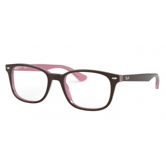Ray-Ban RX 5375 - 2126 Top Marrone Su Rosa Opale