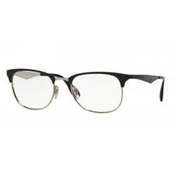 Ray-Ban RX 6346 - 2861 Top Nero Su Argento