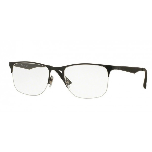 Ray-Ban RX 6362 2595 Argento Lucido