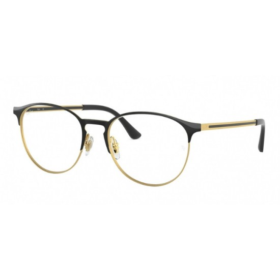 Ray-Ban RX 6375F - 2890 Top In Oro Nero