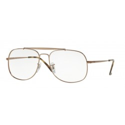 Ray-Ban RX 6389 The General 2531 Marrone Chiaro