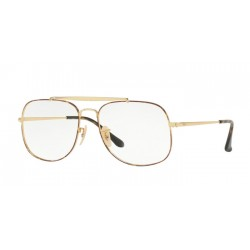 Ray-Ban RX 6389 The General 2945 Oro In Alto Havana