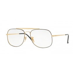 Ray-Ban RX 6389 The General 2946 Top D'oro Su Nero