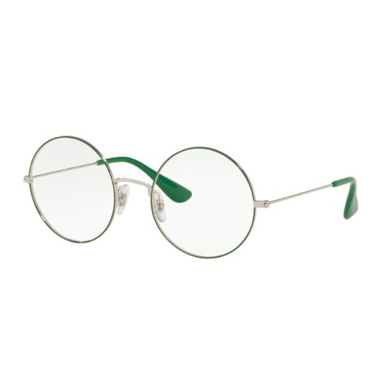 Ray-Ban RX 6392 Ja-jo 3030 Argento In Alto Verde | Occhiale Da Vista Unisex