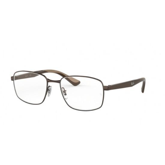 Ray-Ban RX 6423 - 2511 Dsrk Marrone | Occhiale Da Vista Uomo