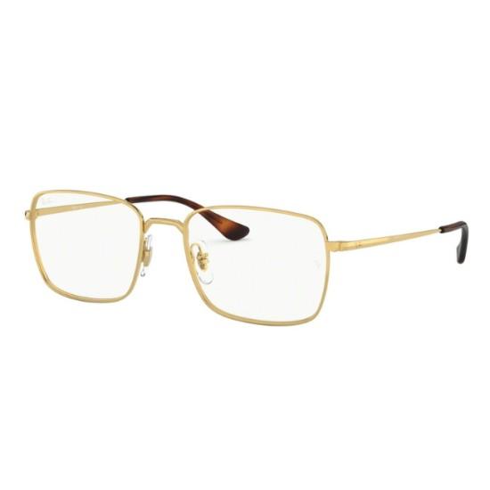 Ray-Ban RX 6437 - 3036 Oro   Occhiale Da Vista Unisex