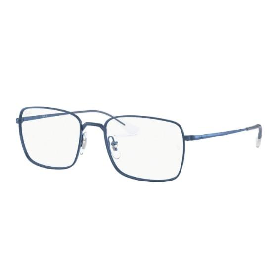 Ray-Ban RX 6437 - 3037 Blu Scuro | Occhiale Da Vista Unisex