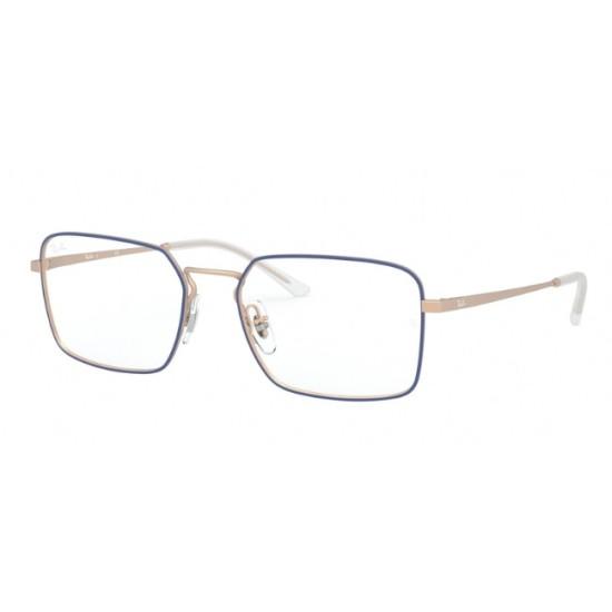 Ray-Ban RX 6440 - 3053 Blu Opaco Su Rame Gommato | Occhiale Da Vista Unisex