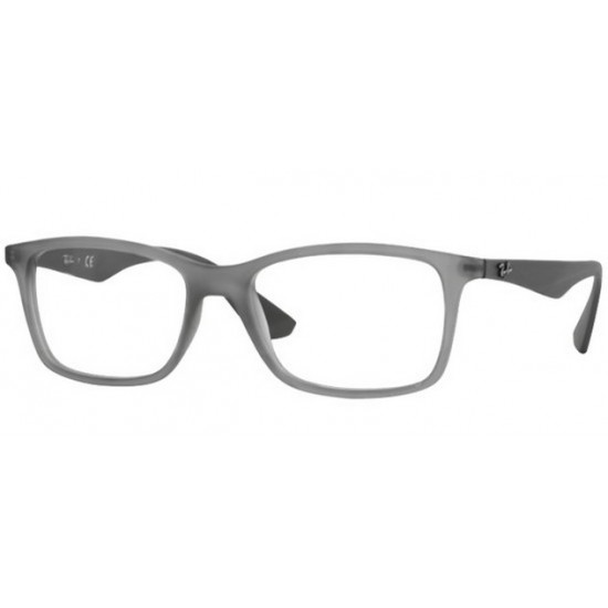 7047 Occhiali opachi trasparenti Uomo, Nero , 56