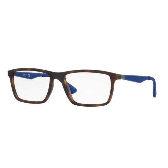 Ray-Ban RX 7056 - 5645 Opaca Avana | Occhiale Da Vista Uomo