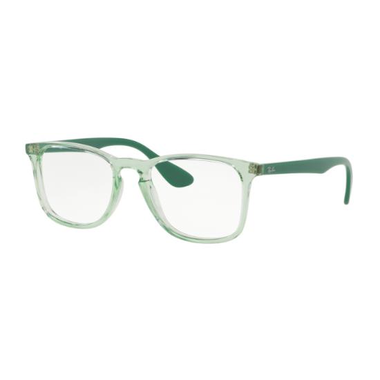 Ray-Ban RX 7074 - 5862 Verde Trasparente   Occhiale Da Vista Unisex