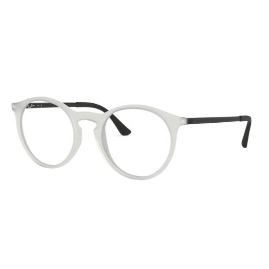 Ray-Ban RX 7132 - 5781 Gomma Trasparente | Occhiale Da Vista Uomo