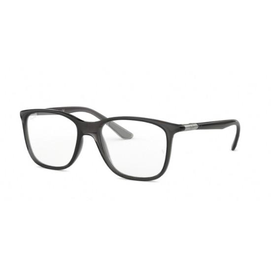 Ray-Ban RX 7143 - 5620 Grigio Trasparente | Occhiale Da Vista Unisex