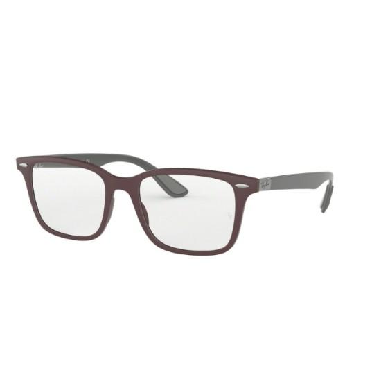 Ray-Ban RX 7144 - 5771 Sabbia Viola Scuro | Occhiale Da Vista Unisex
