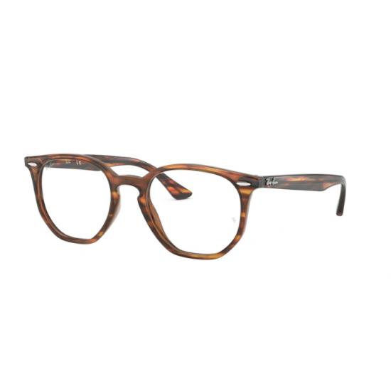 Ray-Ban RX 7151 - 5797 Avana Rosso-marrone | Occhiale Da Vista Unisex