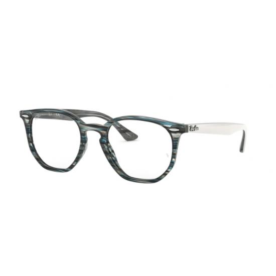 Ray-Ban RX 7151 - 5801 Blu-grigio Spogliato | Occhiale Da Vista Unisex
