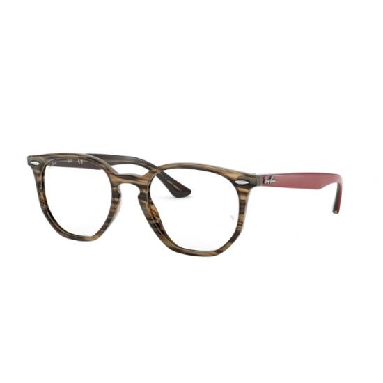 Ray-Ban RX 7151 - 5802 Grigio-marrone Spogliato | Occhiale Da Vista Unisex