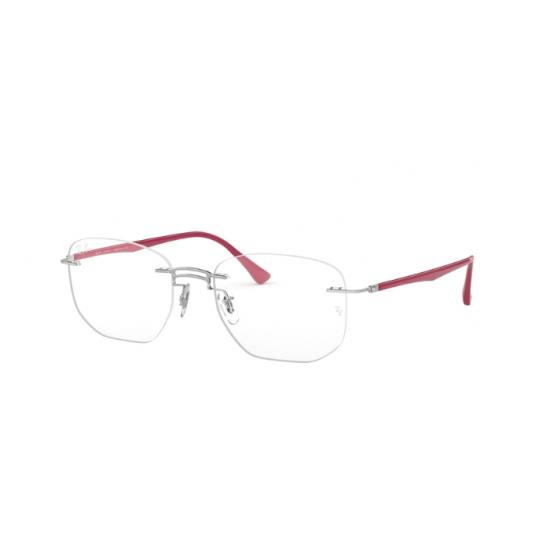 Ray-Ban RX 8757 - 1195 Argento   Occhiale Da Vista Uomo