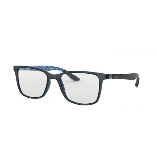 Ray-Ban RX 8905 - 5844 Blu Trasparente   Occhiale Da Vista Uomo