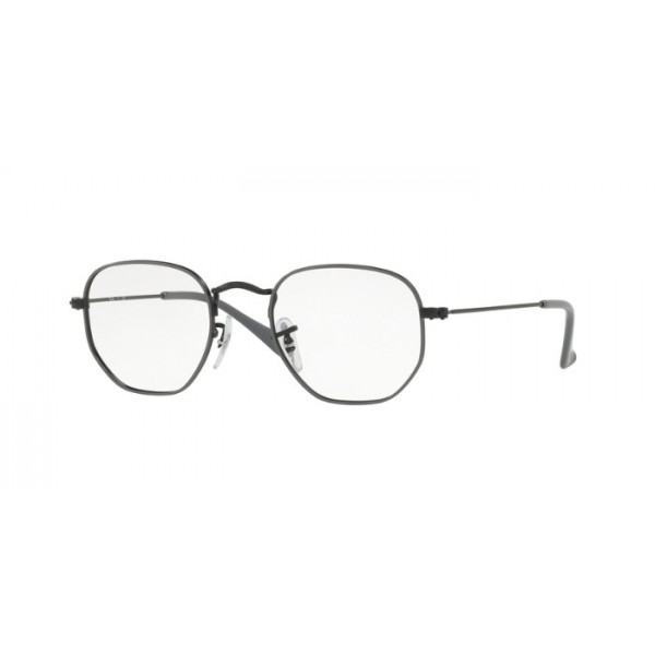 Ray-Ban Junior RY 9541V Junior Hexagonal 4060 Demiglos Nero Su Grigio