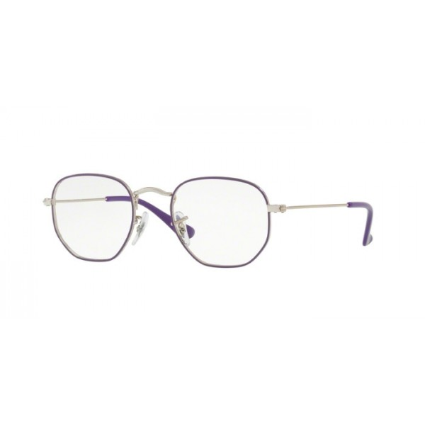Ray-Ban RY 9541V HEXAGONAL 4061 Argento Viola Junior