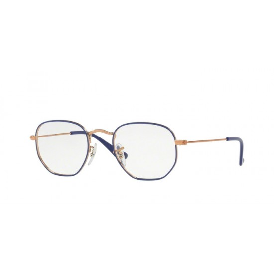 Ray-Ban RY 9541V HEXAGONAL 4063 Rame Blu Junior