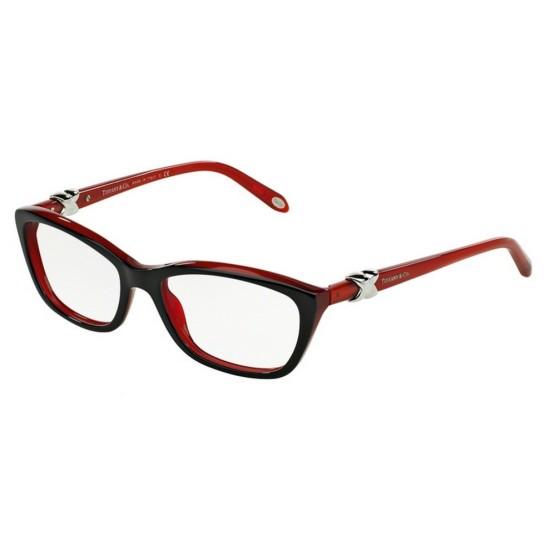 Tiffany TF 2074 - 8156 Nero Rosso   Occhiale Da Vista Donna