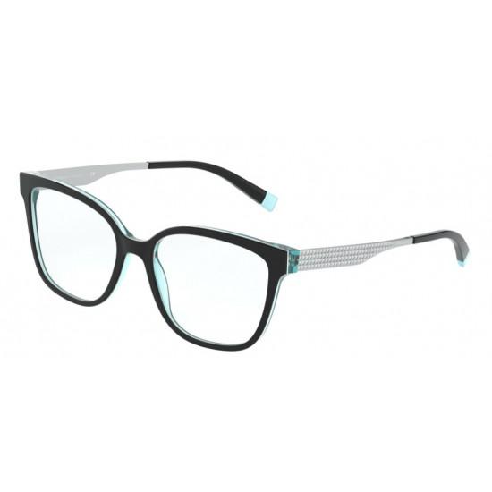 Tiffany TF 2189 - 8274 Nero / Bianco / Blu | Occhiale Da Vista Donna