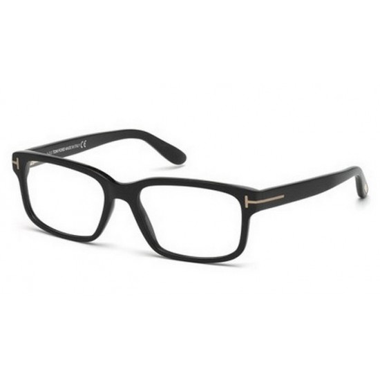 Tom Ford FT 5313 - 002 Nero Opaco | Occhiale Da Vista Uomo