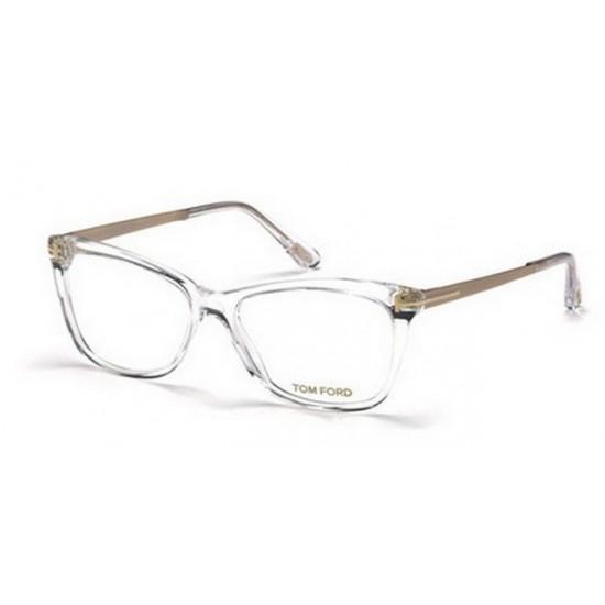 Tom Ford FT 5353 - 026 Cristallo | Occhiale Da Vista Donna