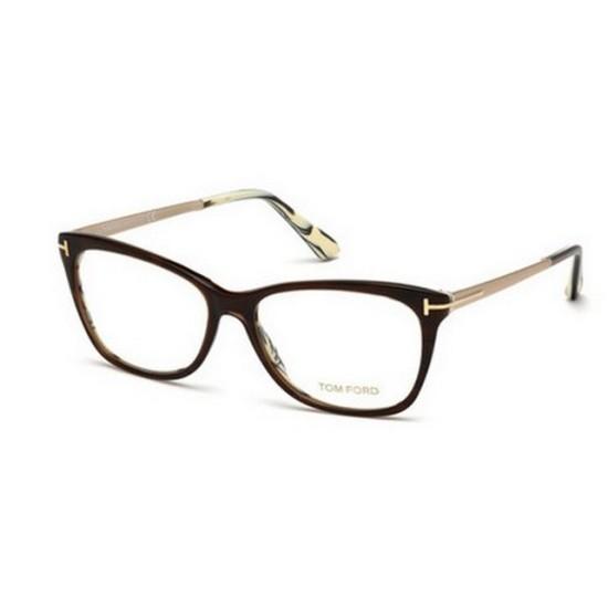 Tom Ford FT 5353 - 050 Marrone Scuro   Occhiale Da Vista Donna