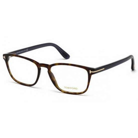 Tom Ford FT 5355 - 052 Avana Oscura | Occhiale Da Vista Uomo