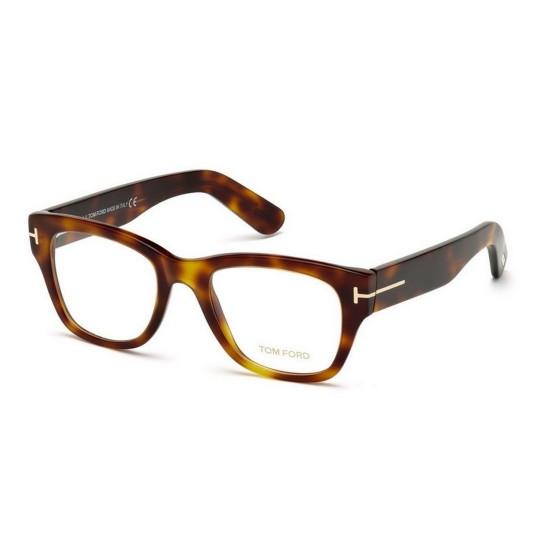 Tom Ford FT 5379 - 052 Avana Oscura | Occhiale Da Vista Uomo