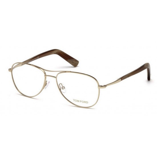 Tom Ford FT 5396 - 028 Oro Rosa Lucido | Occhiale Da Vista Uomo