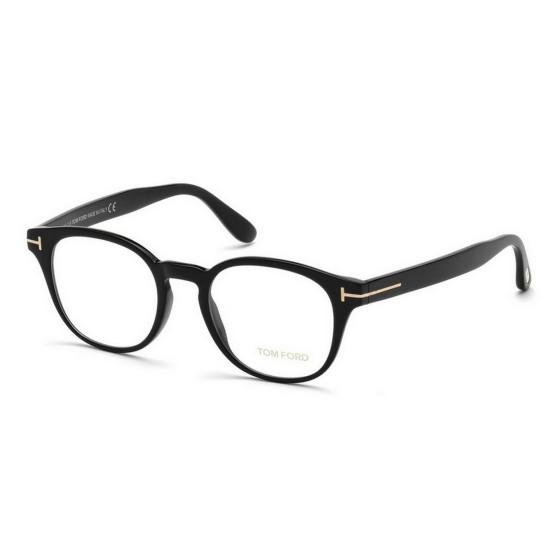 Tom Ford FT 5400 - 001 Nero Lucido | Occhiale Da Vista Uomo