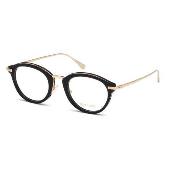 Tom Ford FT 5497 - 001 Nero Lucido   Occhiale Da Vista Uomo