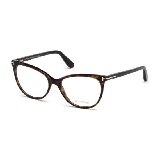 Tom Ford FT 5513 - 052 Avana Oscura | Occhiale Da Vista Donna