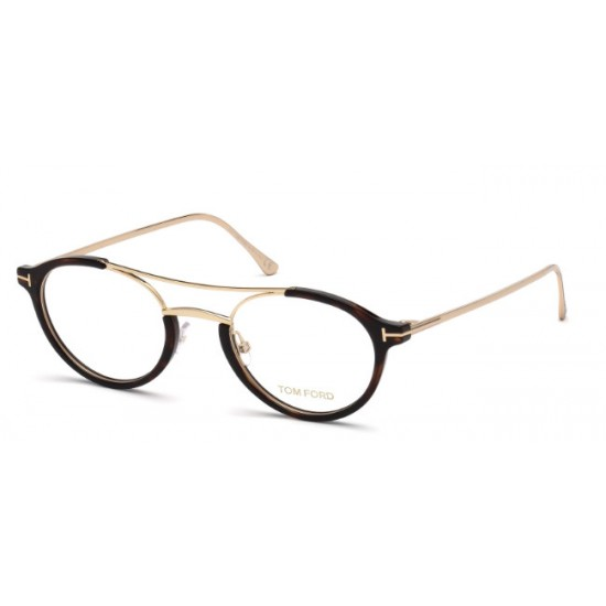 Tom Ford FT 5515 - 052 Avana Oscura   Occhiale Da Vista Unisex