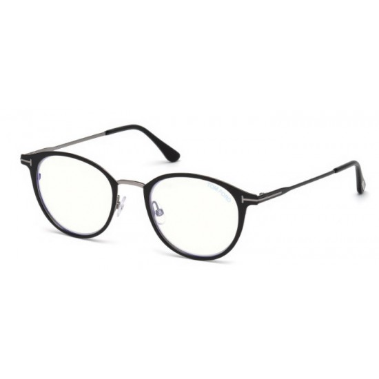 Tom Ford FT 5528-B - 001 Nero Lucido | Occhiale Da Vista Unisex