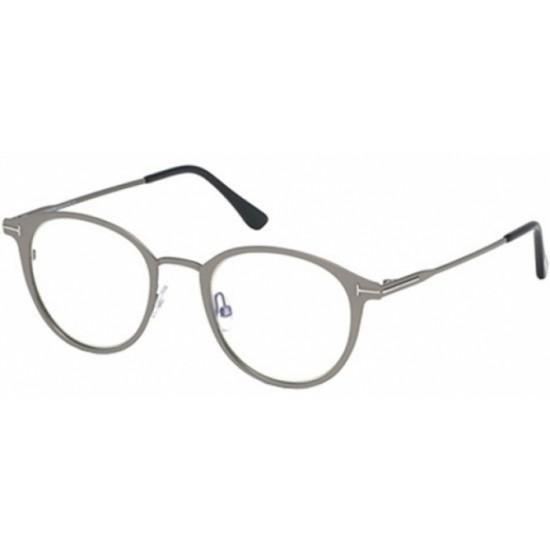 Tom Ford FT 5528-B - 009 Brillante Rutenium Chiaro | Occhiale Da Vista Unisex