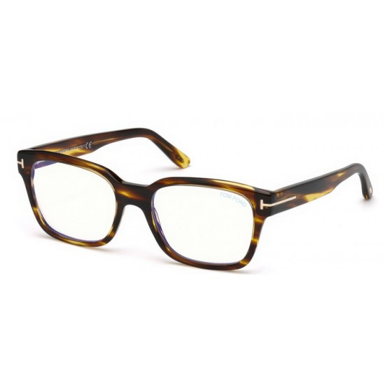 Tom Ford FT 5535-B - 048 Lucido Marrone Scuro