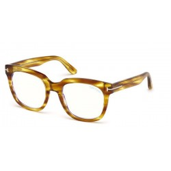 Tom Ford FT 5537-B - 045 Lucido Marrone Chiaro