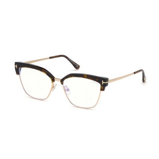 Tom Ford FT 5547-B - 052 Avana Oscura   Occhiale Da Vista Donna