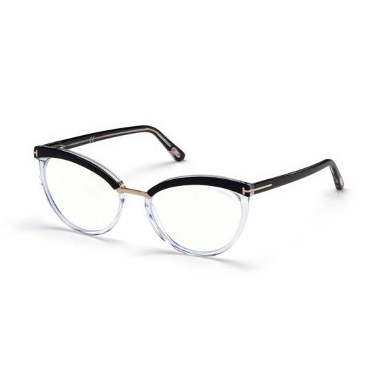 Tom Ford FT 5551-B - 005 Nero | Occhiale Da Vista Donna