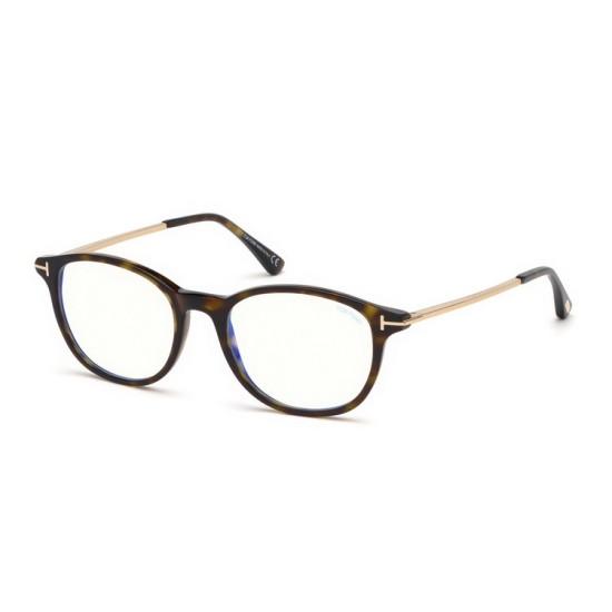 Tom Ford FT 5553-B - 052 Avana Oscura | Occhiale Da Vista Uomo
