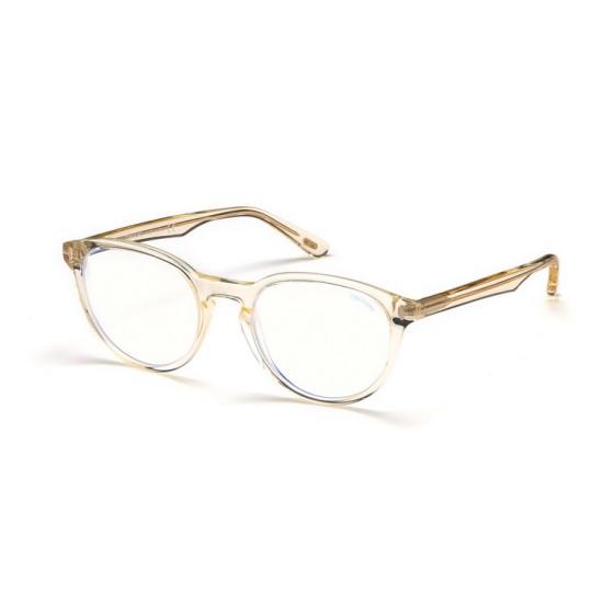 Tom Ford FT 5556-B - 039 Giallo Brillante | Occhiale Da Vista Unisex