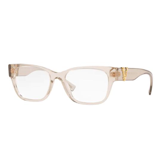 Versace VE 3283 - 5288 Beige Trasparente | Occhiale Da Vista Donna