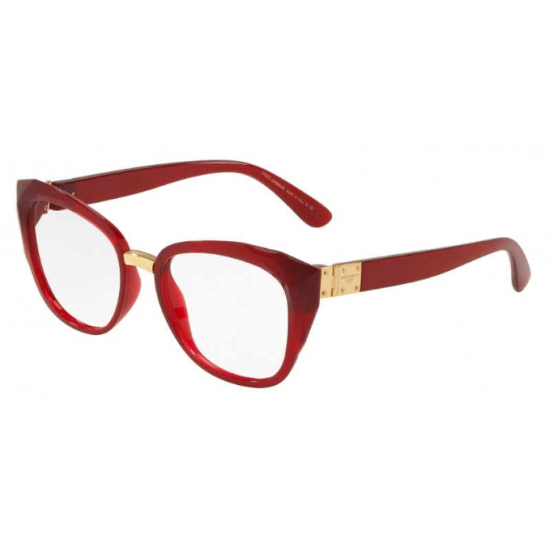 design senza tempo 662ea 8901c Dolce & Gabbana DG 5041 - 1551 Bordeaux Trasparente