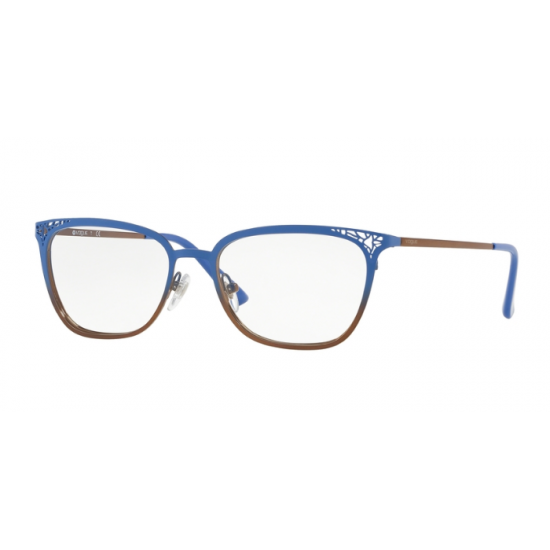 Vogue VO 4103 - 5087 Gradiente Superiore Blu Su Rame | Occhiale Da Vista Donna
