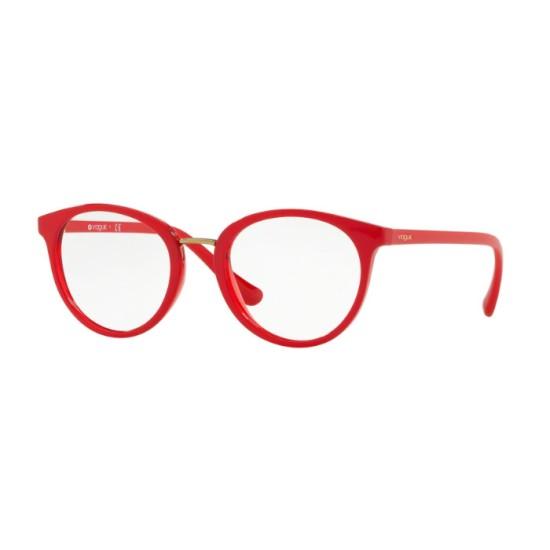 Vogue VO 5167 - 2621 Superiore Rosso / Rosso Trasparente   Occhiale Da Vista Donna